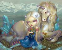 Fiona and the Unicorn