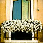 """Venetian Balcony"" by laurazphotography"
