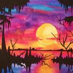 """Sunset Swamp"" by neworleansartist"