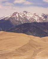Sangre de Cristo Mountains and The   Sand Dunes Co