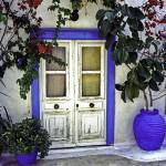 """Doorway In Santorini 1"" by madeline"