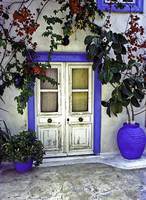 Doorway In Santorini 1
