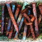 """NAILS-COLORED PENCILS"" by pjaysart"