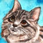 """Cat portrait"" by Blarney333"
