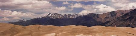 Great Sand Dunes Panorama 1