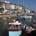 """Mevagissey harbor."" by sebwasek"
