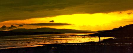 Golden Sunset On Mull