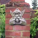 """The Garden Gargoyle"" by bettymackey"