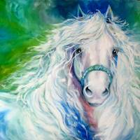 """DREAM ANDALUSIAN"" by Marcia Baldwin"