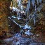 """""""Trail 3 Icicles (IMG_9410)"""" by jvandyke"""