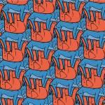 """republican-democrat tessellation"" by nscallfittura"