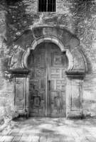 Mission Espada Door, San Antonio, Texas