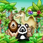 """Zoo Animals with Camel"" by just4mebooks"