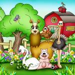"""Farm Animals with Llama"" by just4mebooks"