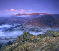 Helm Crag Lake District UK