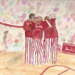 """""""Hoosier Huddle"""" by Artsy_Bru"""