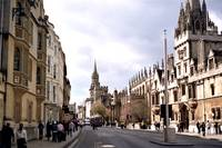 High Street.  Oxford, England