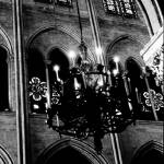 """Chandelier Notre Dame Cathedral"" by MichelleLambert"