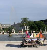 Yachts in the Tuileries