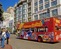 San Diego Tour Bus CityScapes