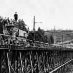 """""""Tretle Glen Rail car, Oakland, California"""" by worldwidearchive"""
