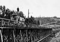 Tretle Glen Rail car, Oakland, California by WorldWide Archive