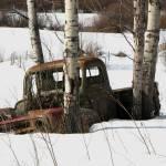 """International Truck in Snow ... IMG_4503"" by garytrentPHOTOGRAPHYcdn"