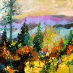 """Georgia Autumn Oil Painting by Ginette Callaway"" by GinetteCallaway"