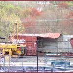 """""""DERAILMENT-Neshaminy Falls Station   4/23/2003"""" by StanFeldman"""
