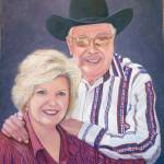 """""""Bill Mack (The Satellite Cowboy) and wife Cindy"""" by realismbybill"""