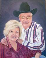 Bill Mack (The Satellite Cowboy) and wife Cindy