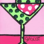 """Appletini on Pink"" by gascot"