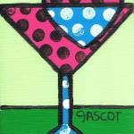 """Polka-dotted Cosmo"" by gascot"
