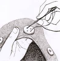 how to sew a button 3