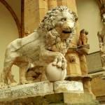 """Lion Piazza della Signoria 1"" by lanawalker"