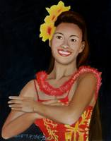Hula Dance Gesture of Love