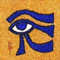 Eye of Horus - Sun Eye Art Prints & Posters by Brandi Jasmine
