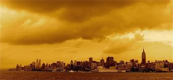 New York City in Amber
