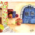 """Mediterranean Stable Door"" by arlene72"
