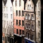 """Edinburgh Street -Behind the Castle"" by LynneDaley"