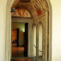 Doorway Vecchio Palace Florence Italy Art Prints & Posters by Lana Walker