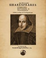 Shakespeare First Folio Front Piece