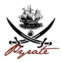 Pyrate Insignia with Ship