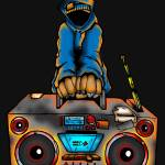 """RADIO RAHEEM"" by mentalstatewarrior"