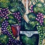 """Vintage Grapes"" by CASB"
