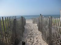 Kismet  Fire Island - walk to beach 7/2009