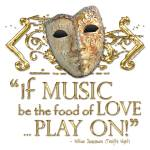 """Twelfth Night Music Quote"" by incognita"