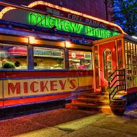Mickey's Dining Car Art Prints & Posters by pasant