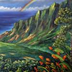 """""""KAUAI - Kalalau Lookout Another Reality"""" by TropicalExpression"""
