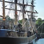 """Charlestown Tall Ship"" by spottydog06"